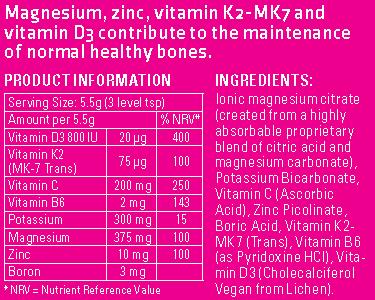 Bone Support Formulation